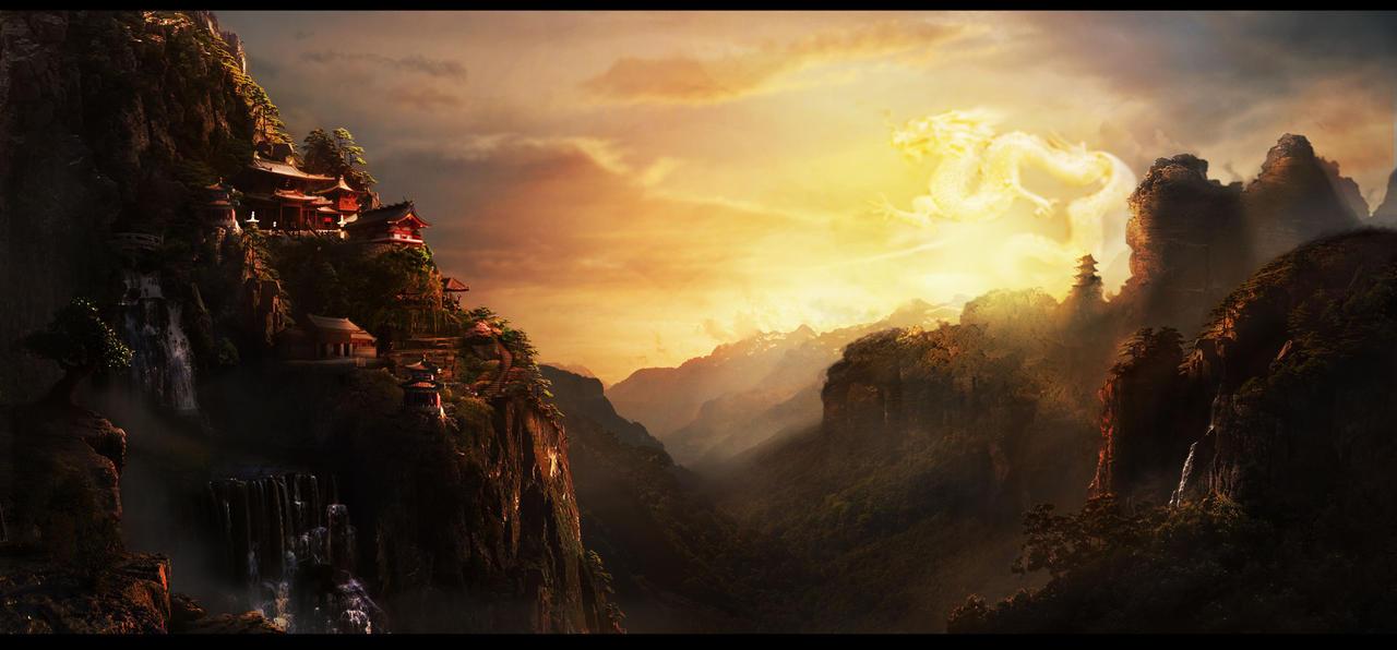 Shaolin Temple by LunarRoseFX