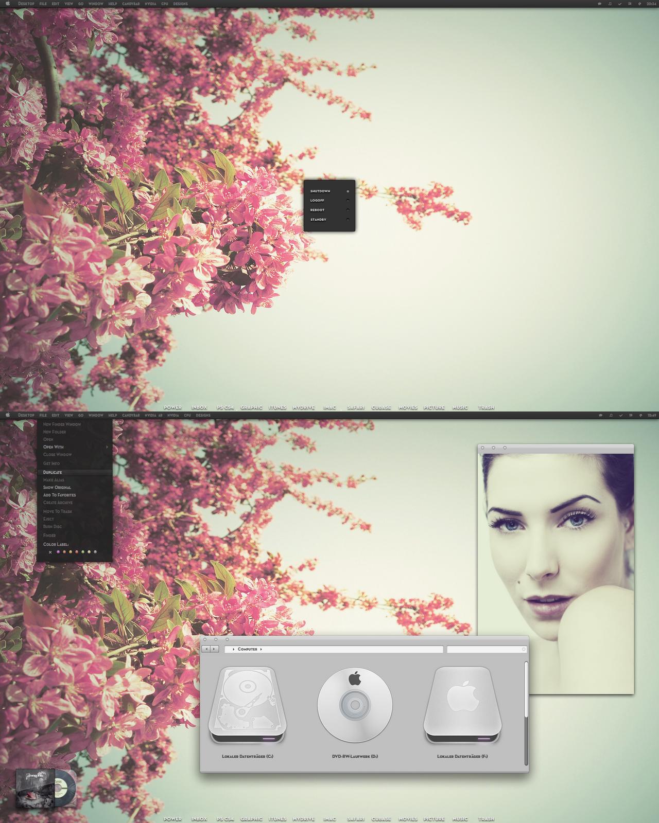 mac theme svart + carbonite by Kveldsvanger