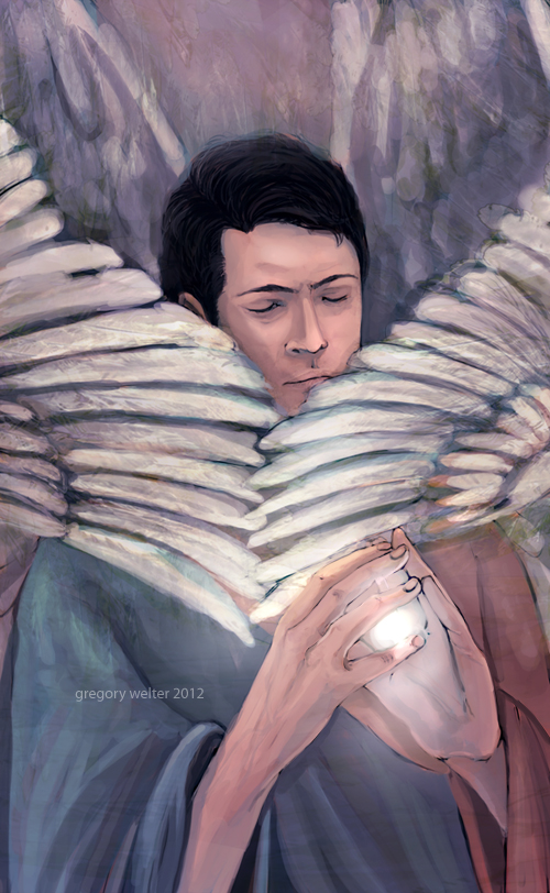 castiel by Gregory-Welter