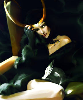 Contest Entry - Lady Loki by Everybery