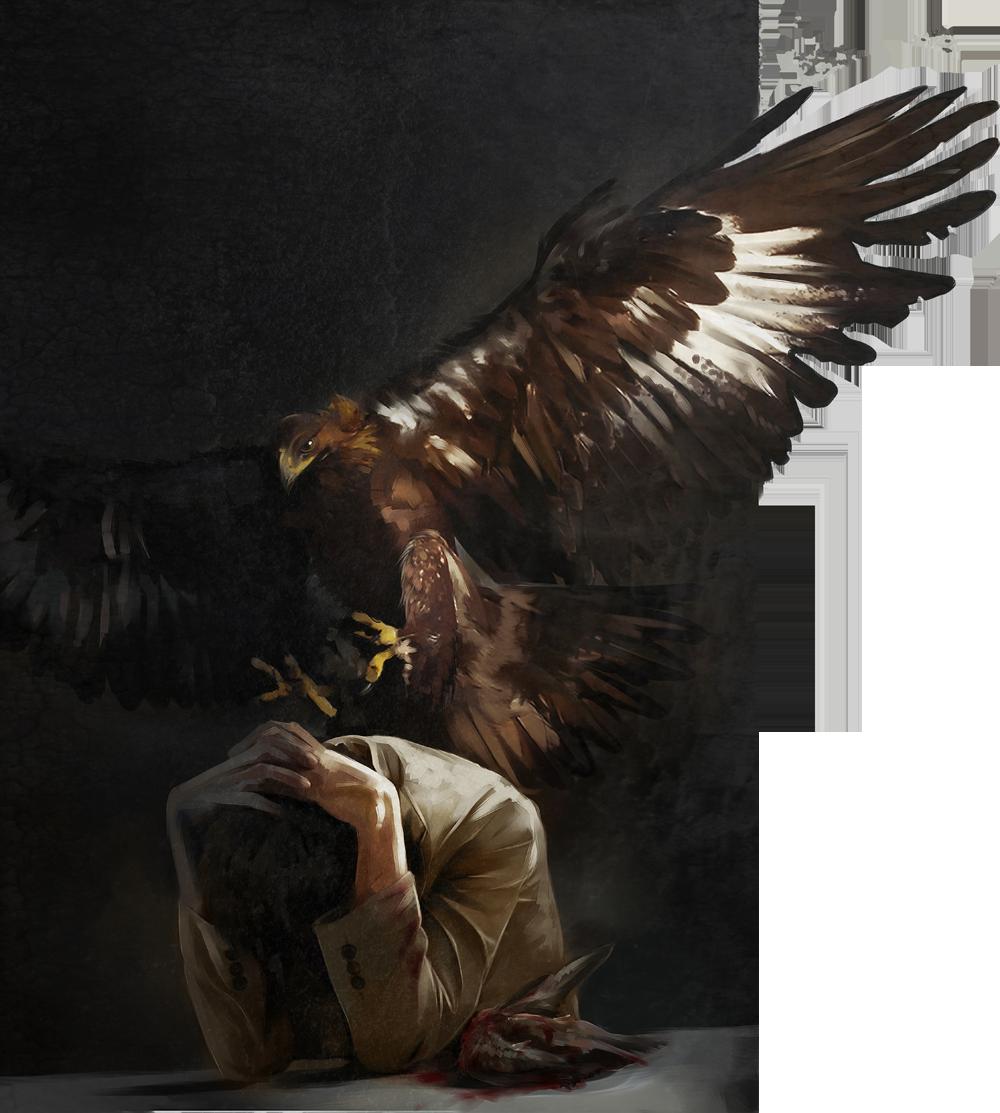 depressed Castiel by Gregory-Welter