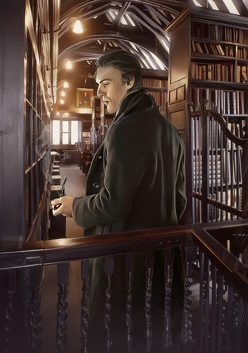 Sherlock Holmes Book Cover Art : Sherlock holmes book cover by everybery on deviantart
