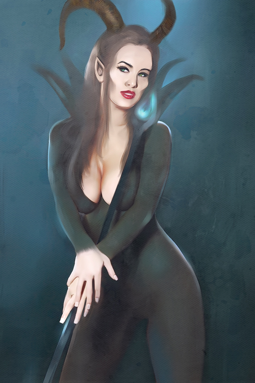 queen Maleficent by Everybery