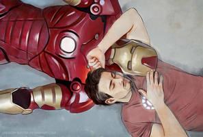 Sleeping with machine by Everybery