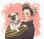 eggsy with pug