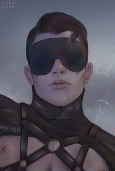 RK900 bust redraw by Everybery