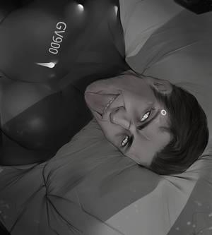 REVERSE!AU Gavin sketch