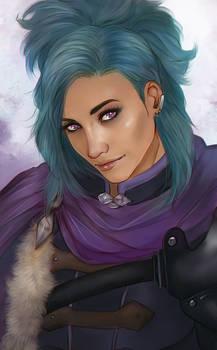 COMMISSION - purple magic