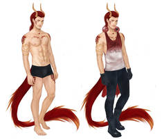 COMMISSION - reference sheet by Everybery