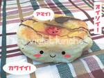 Cute tart with cherry