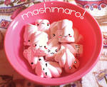 cute marshmallows in a bowl