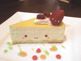 Kawaii cheese cake