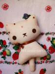 White choco kitty plushie