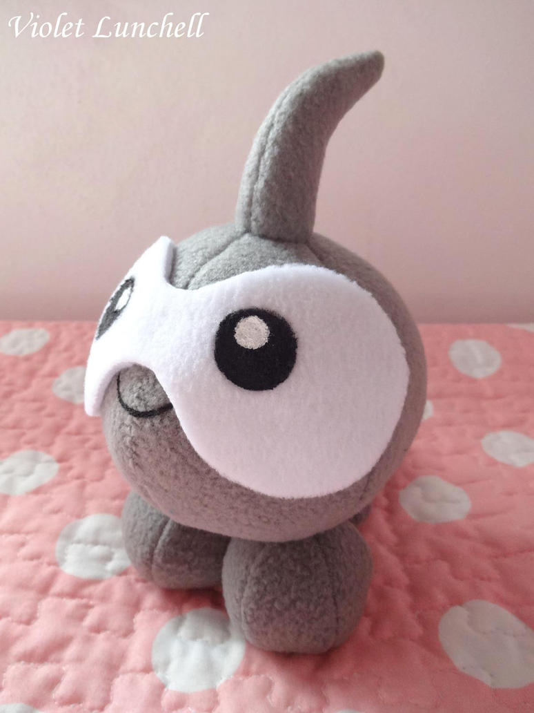 Pokemon Castform plushie by VioletLunchell