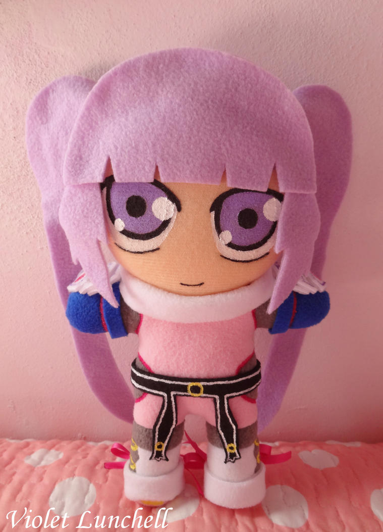 Tales of Graces Sophie plushie by VioletLunchell
