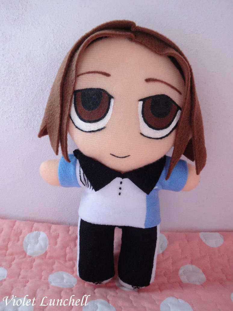 The Prince of Tennis Taki Haginosuke plushie by VioletLunchell