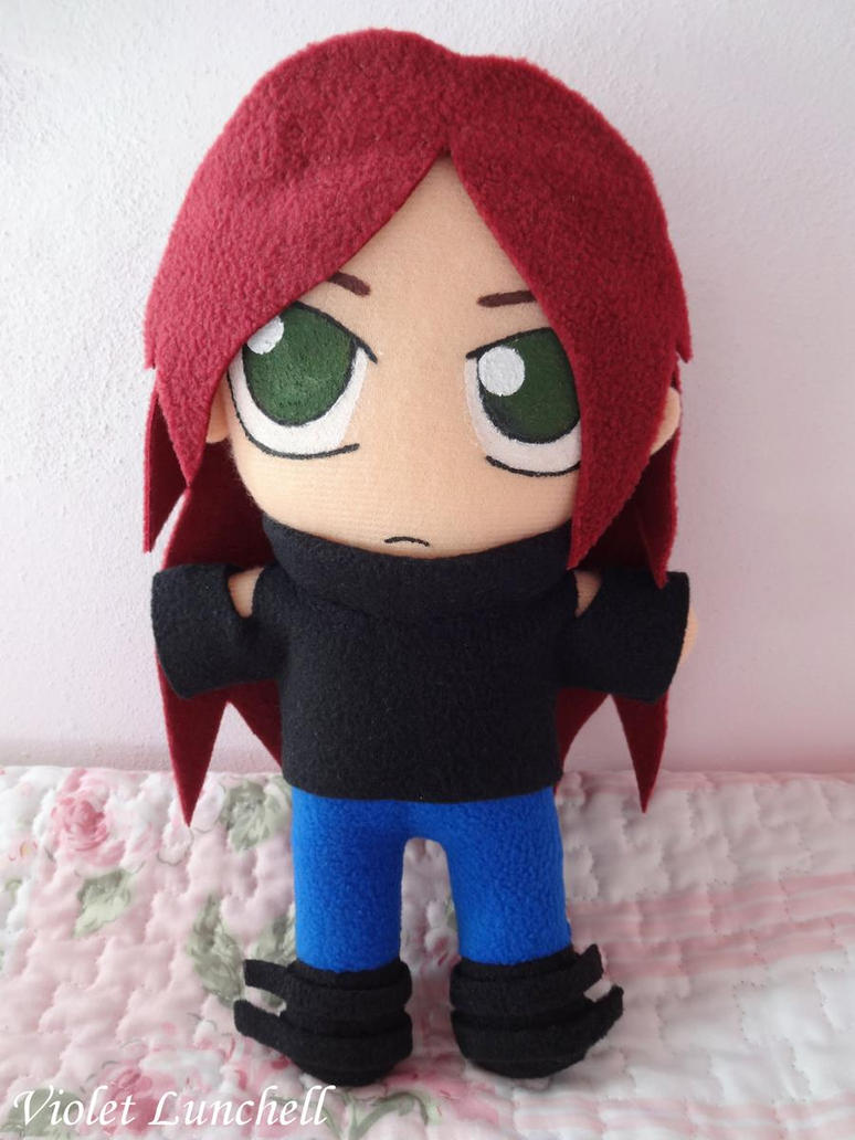 Shattered Heaven Amy plushie by VioletLunchell