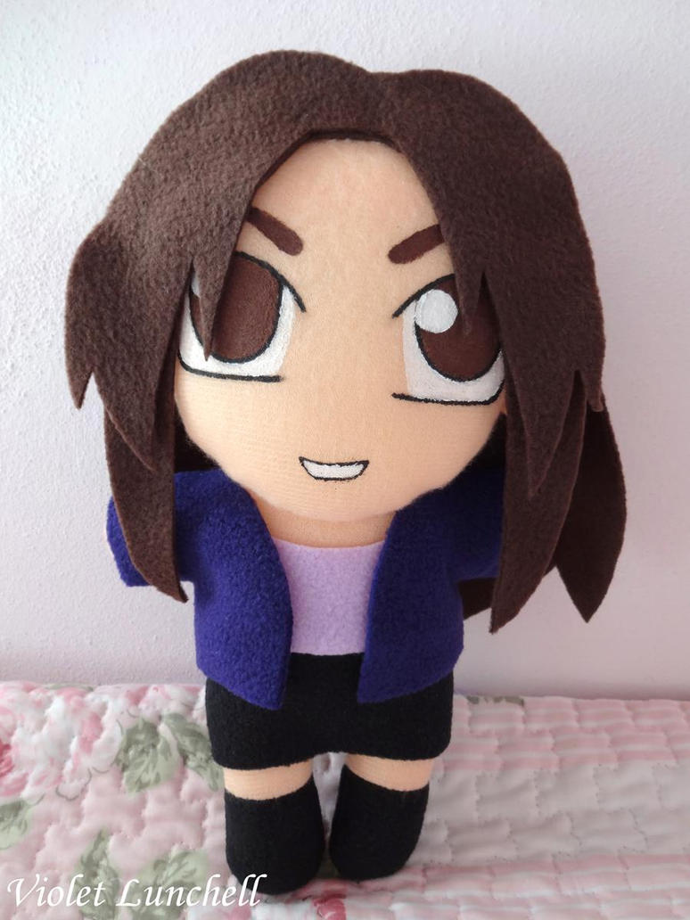 Shattered Heaven Sharon plushie by VioletLunchell
