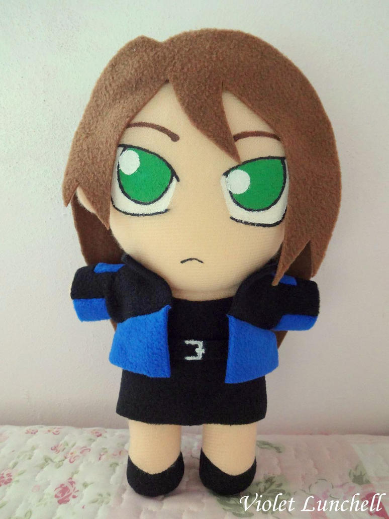 Shatter Heaven Karin plushie by VioletLunchell
