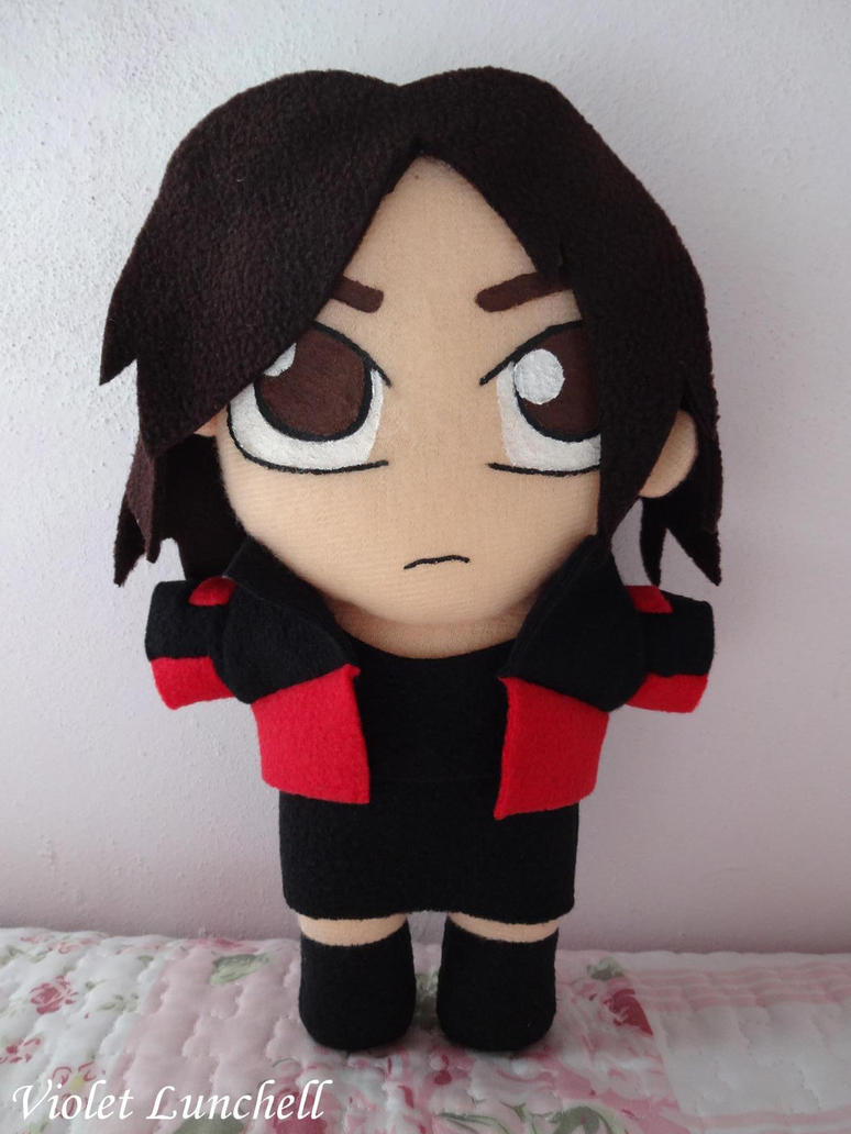 Shattered Heaven Veronica Plushie by VioletLunchell