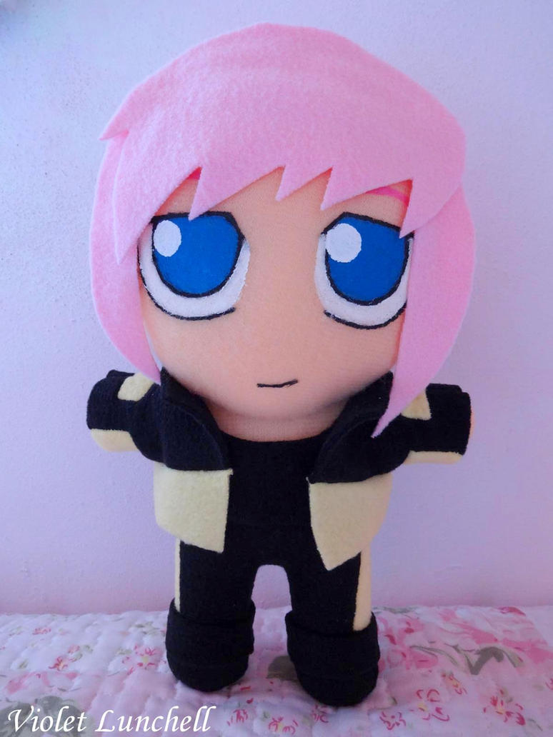 Shattered Heaven Catherine plushie by VioletLunchell
