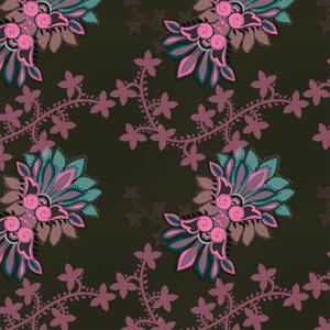 Stylized floral ornament pattern by photoshopcs8
