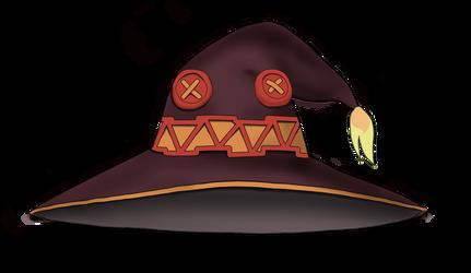 konosuba - Megumi hat by perforator2012