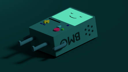 BMO - adventure time by perforator2012