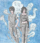 PJO || The Ghost King and The Necromancer || 2020 by Kuraiko-chan349