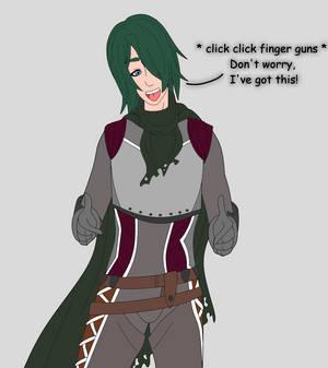 Destiny OC || Fenja || Finger Guns || [2021]