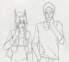 Mairimashitai! Iruma-kun  || Going out for a Date