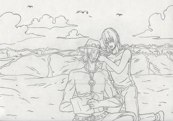 One Piece || Ace and Miju || Navigating || [2021]