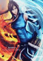 Korra avatar by KazuyaNetto