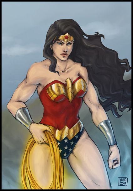 Wonder Woman by CaffeineCat