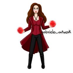 Scarlett Witch by gabrielaartwork