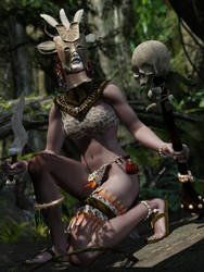 The tribal witch