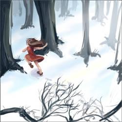 running away by BoBxisxcool