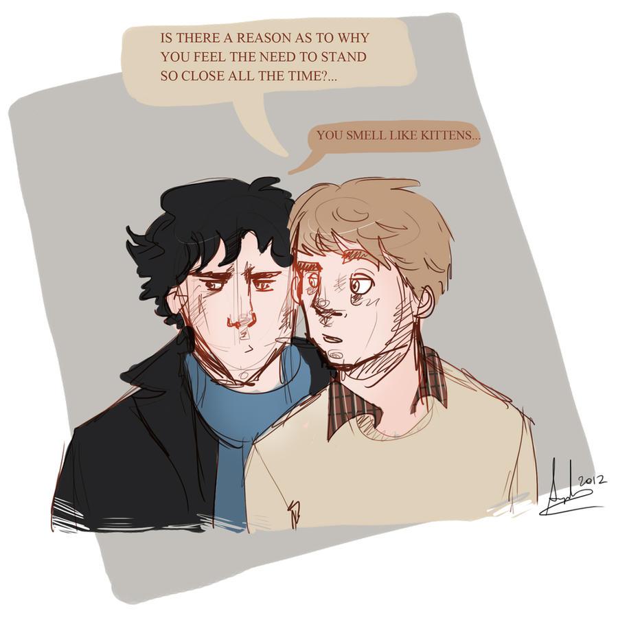 Sherlock: Personal Space. by superfizz