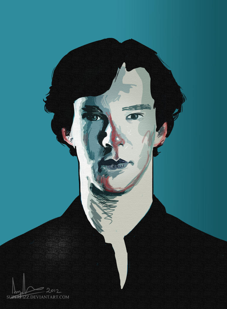 Sherlock: Blue. by superfizz