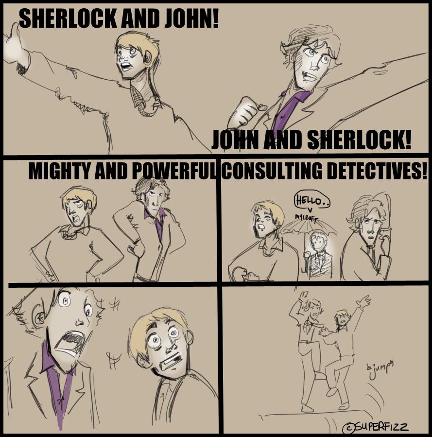 Sherlock/TRTE: Consulting Gods. by superfizz