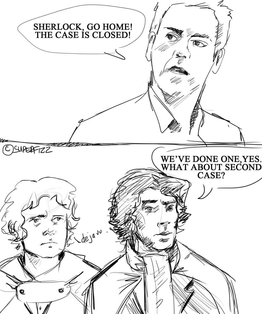 LOTR/Sherlock Crossover. by superfizz