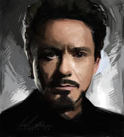 Tony Stark: Repainted. by superfizz