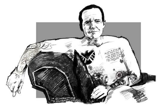 Commission: Tatt Artist Coulson