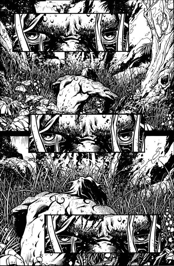 Neanderthal page 1 by Spacefriend-KRUNK
