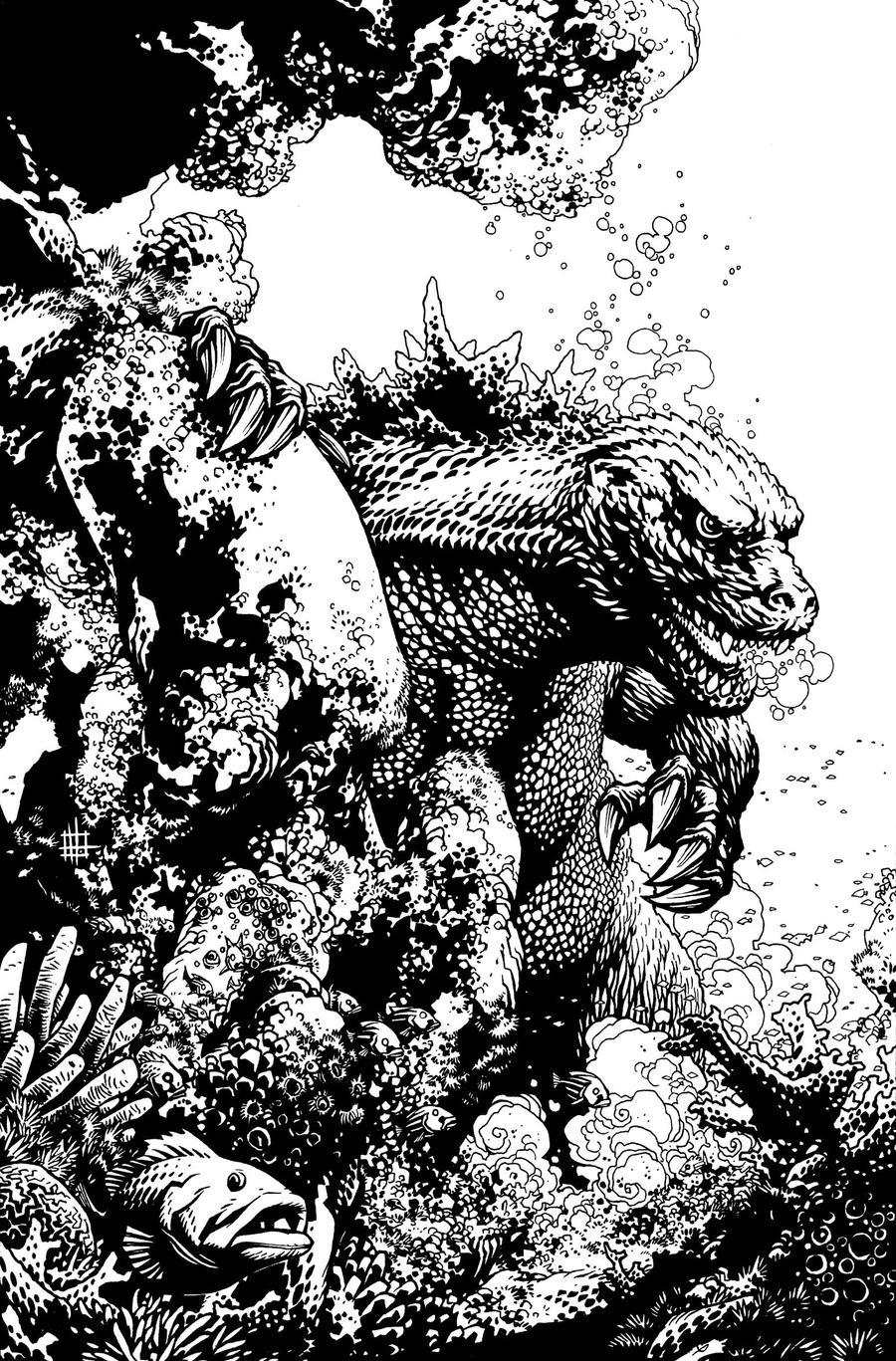 Godzilla Cover 1 by Spacefriend-KRUNK