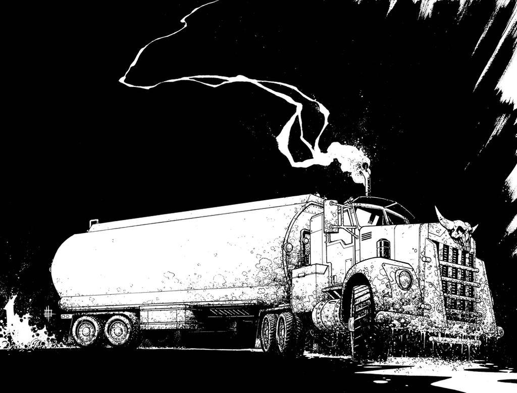 Road Rage book cover by Spacefriend-KRUNK