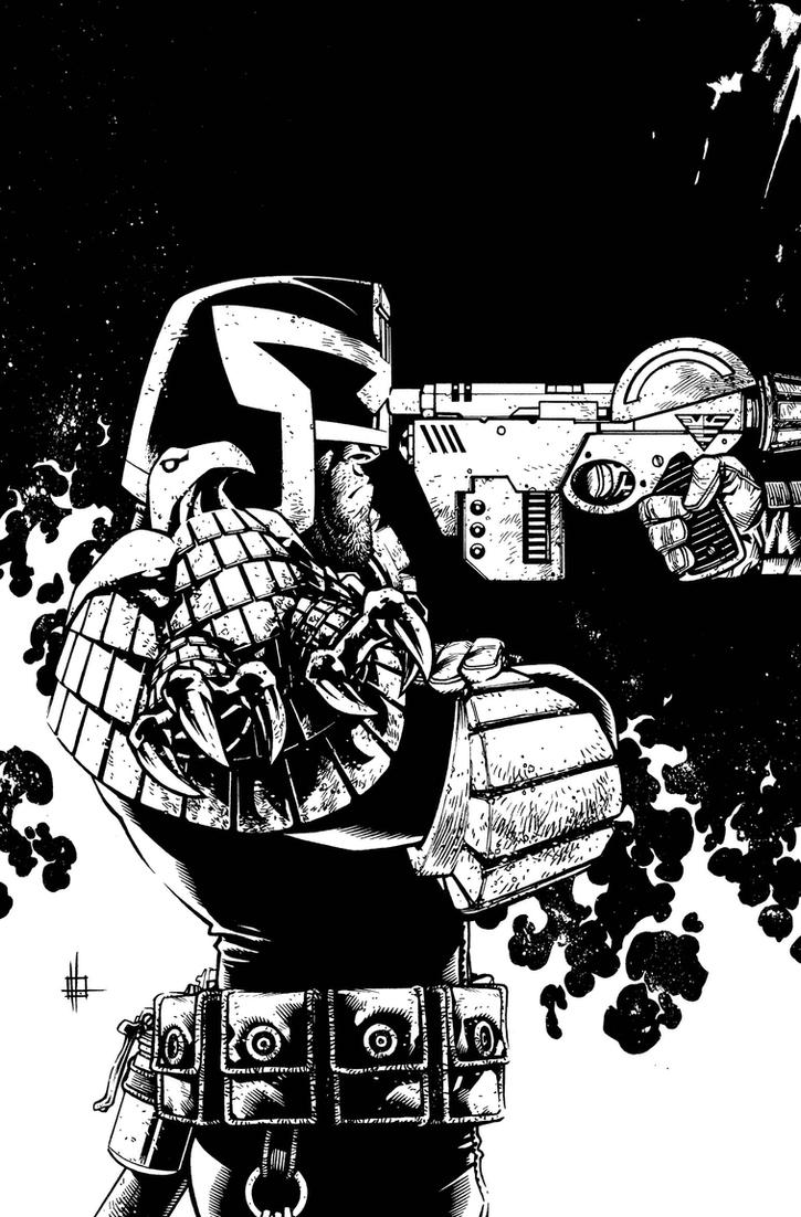 Judge Dredd cover 4 low res by Spacefriend-KRUNK