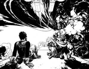 Wild Blue Yonder Issue 3 Pages 14 and 15