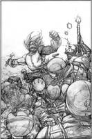 Wild Blue Yonder Issue 5 Page 16 Pencil by Spacefriend-KRUNK