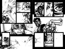 Wild Blue Yonder Issue 5 Pages 20 and 21